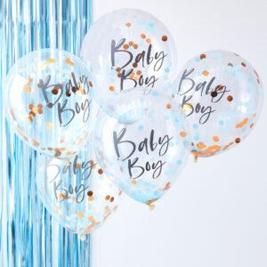 Baby boy ballonnen
