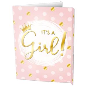 Geboortebord girl