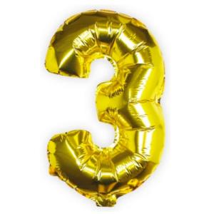 Ballon 3 goud